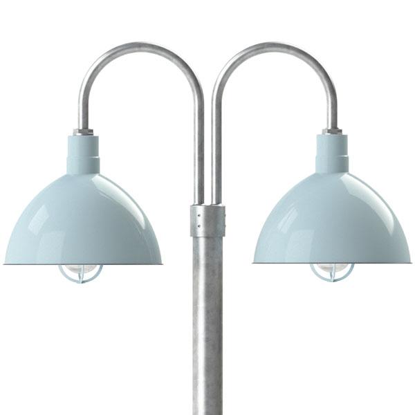 Wilcox Double Post Mount Light
