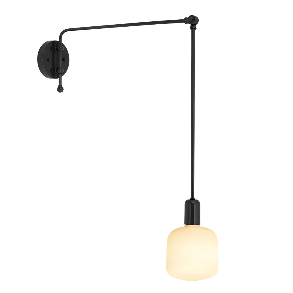 Downtown Swing Arm Sconce Barn Light Electric