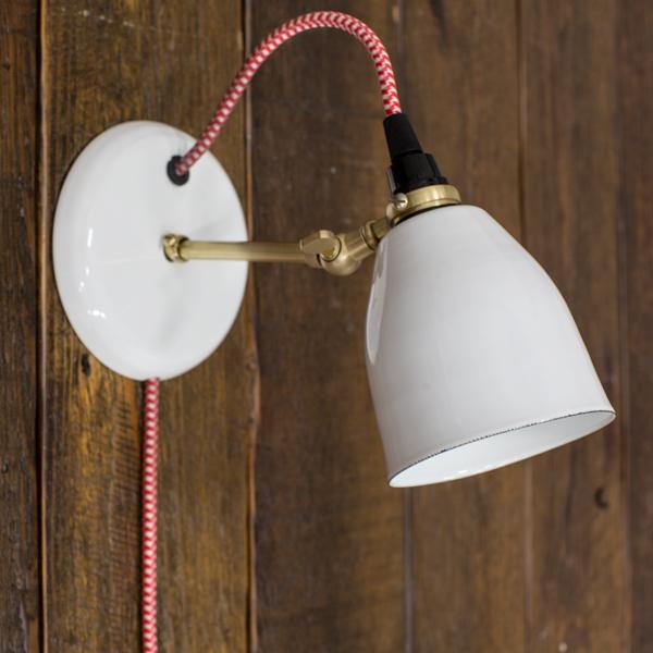 Lovell Plug In Wall Sconce Barn Light
