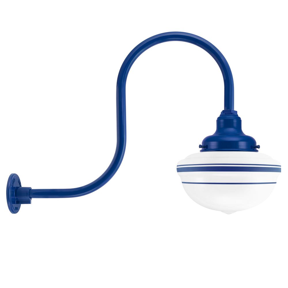 Acorn Schoolhouse Gooseneck Light   Barn Light Electric