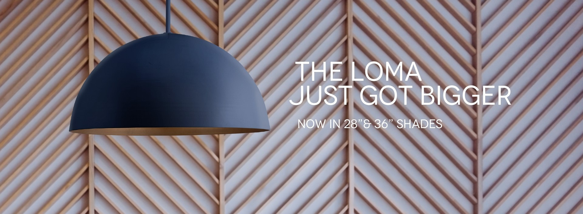 The Loma Large Pendant Lighting Collection