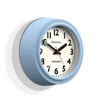 Telectric Clock, Egg Blue