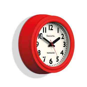 Telectric Clock, Fire Engine Red