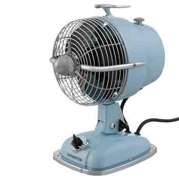 Emmett Table Fan, Baby Blue