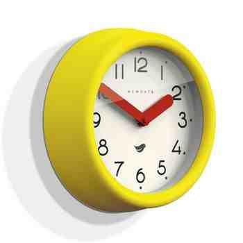 The Pantry Clock, Citrus Yellow