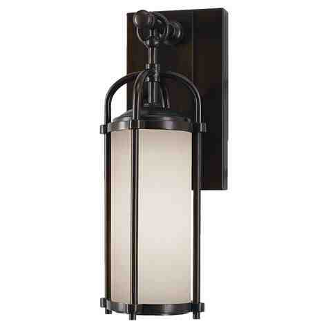 The Craftsman Wall Sconce | Espresso