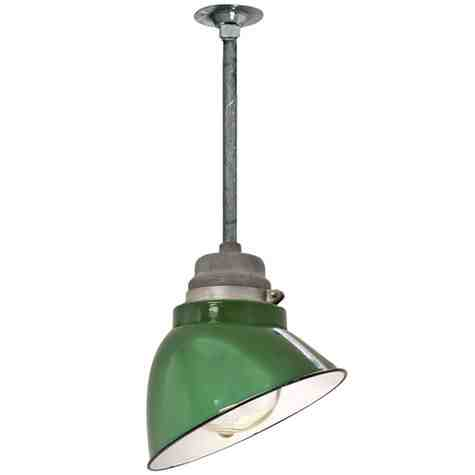 Vintage Crouse-Hinds Explosion Proof Angle Shade
