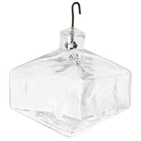 Vintage Blown Glass Gio Ponti Dodecahedron