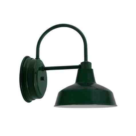 """10"""" Austin LED Sconce, 300-Dark Green"""