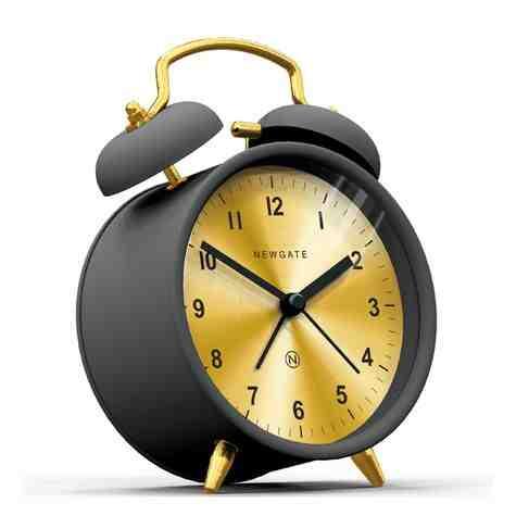 The Charlie Bell Alarm Clock, Matte Gravity Grey