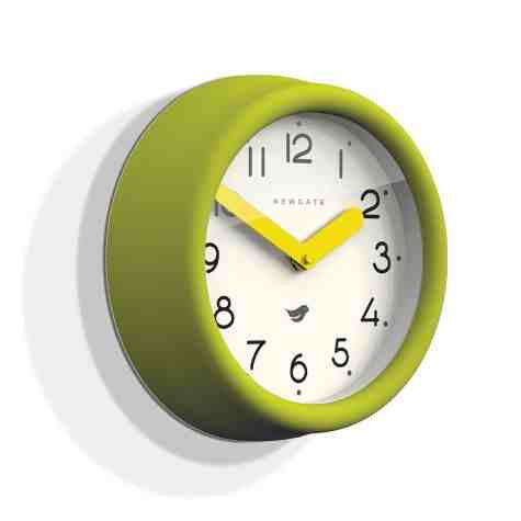 The Pantry Clock, Lime Green