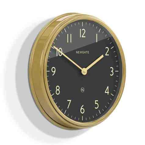 The Spy Clock, Radial Brass