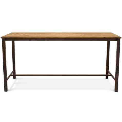 Warner Bar Table, NO-Nutmeg Oak, 601-Chocolate