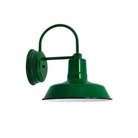 """12"""" The Original™ Sconce, 350-Porcelain Vintage Green"""