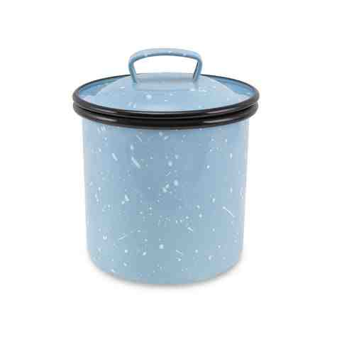1 Quart Canister, 766-Delphite with White Speckles