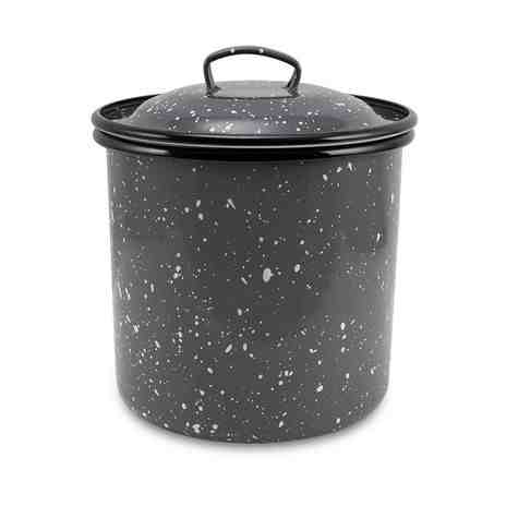 3 Quart Canister, 860-Graphite with White Speckles