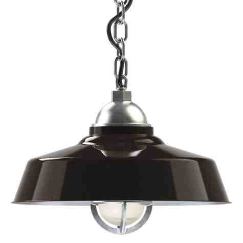 "16"" Rochester LED, 850-Porcelain Bronze, TGG-Heavy Duty Cast Guard, 975-Galvanized, Chain in 975-Galvanized, SBK-Standard Black Cord"