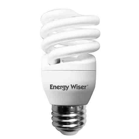 13W Compact Fluorescent CFL Coil Bulb
