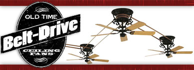 Classic Belt Drive Ceiling Fans By Barn Light Electric Inspiration Barn Light Electric