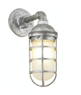 Atomic Topless Cast Guard Sconce
