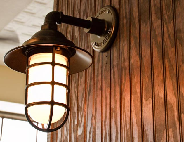 Barn Light Electric Atomic CGU Sconce