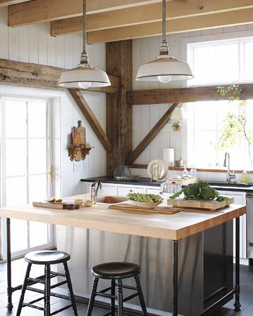 Martha Stewart Vintage Rustic Kitchen Pendant