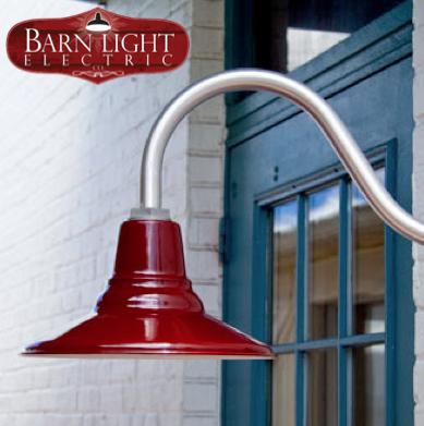 Barn Light Electric Aero Gooseneck Light