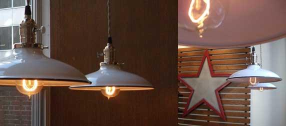 barn light ivanhoe sinclair industrial porcelain pendant
