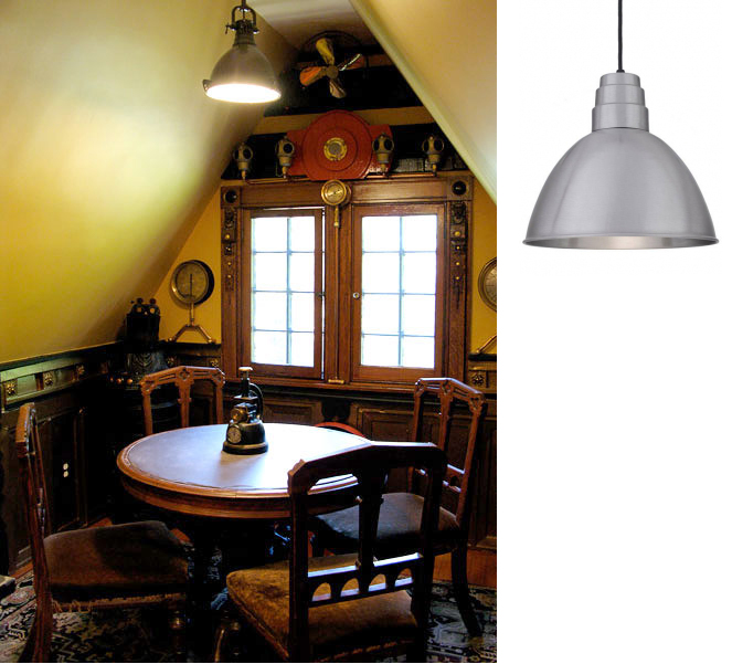 deep bowl pendant light