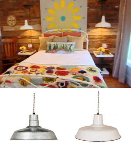Barn Light Electric Porcelain Warehouse Pendant