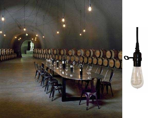 cade winery lights