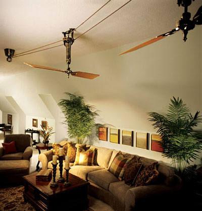 belt driven ceiling fan2