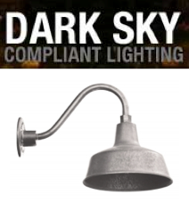 dark sky compliant barn lighting