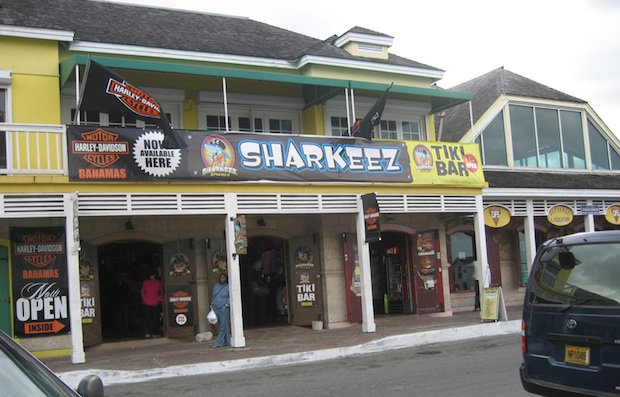 sharkeez caribbean barn lighting