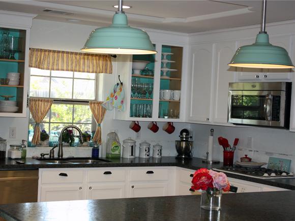 life rearranged kitchen lighting