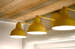 yellow gooseneck kitchen lighting thumb