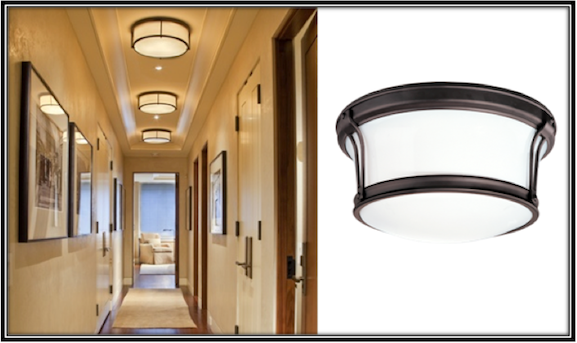 Flush Mount Lights Are Ideal For Narrow