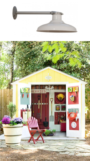 better homes and gardens outdoor shed light