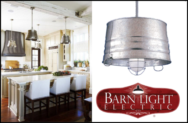 sports bar bucket pendant lighting