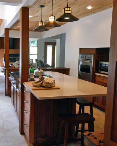 rustic kitchen pendant lamps