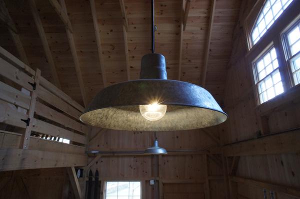 barn light warehouse pendant galvanized