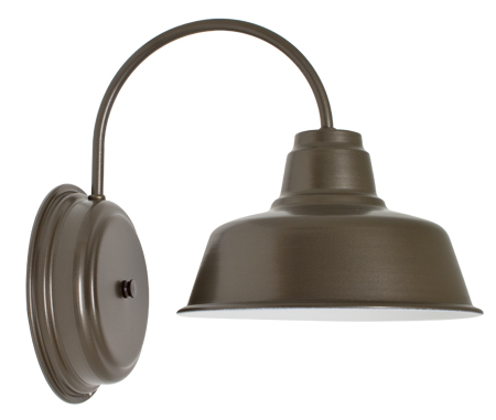 austin sconce brown
