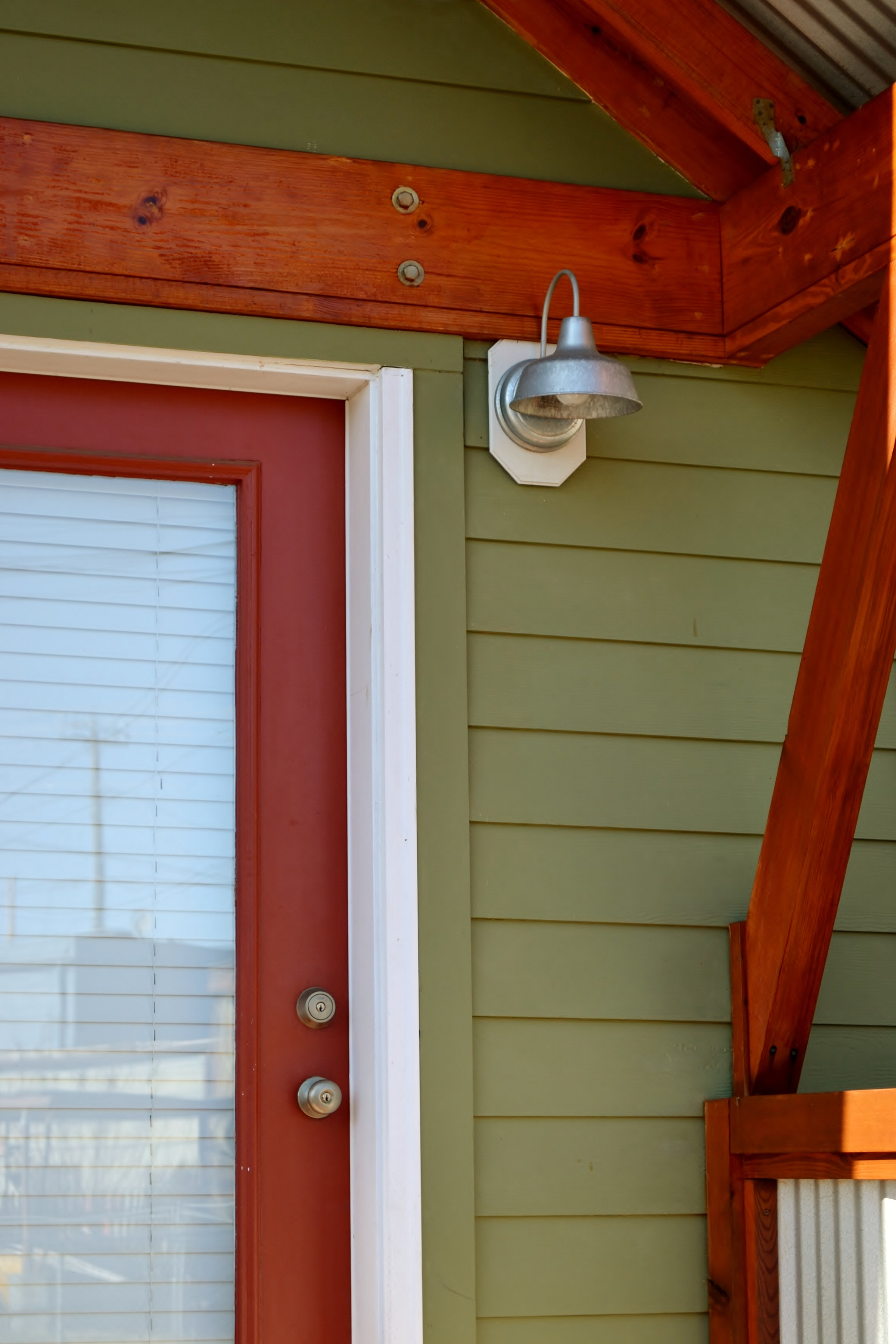 barn wall sconce exterior