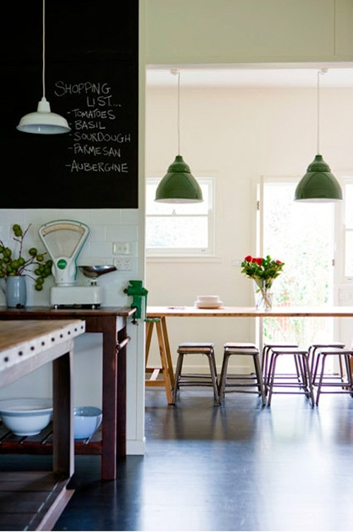 deep bowl porcelain pendant warehouse shade kitchen