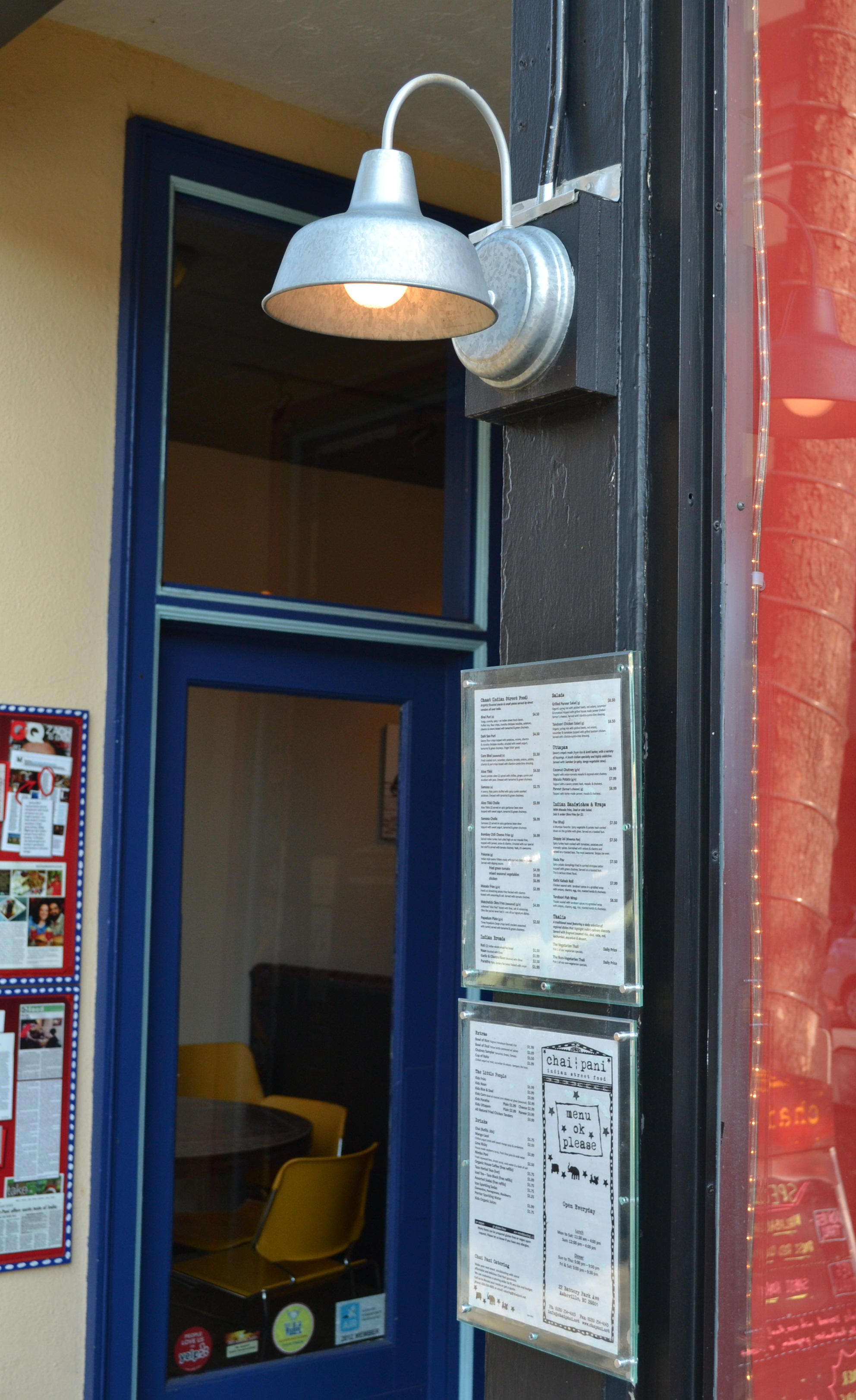 Barn Wall Sconce Highlights Restaurant Menu for City ...
