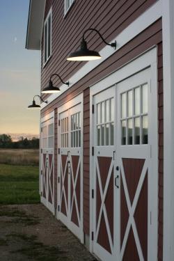 gooseneck barn light warehouse shade exterior