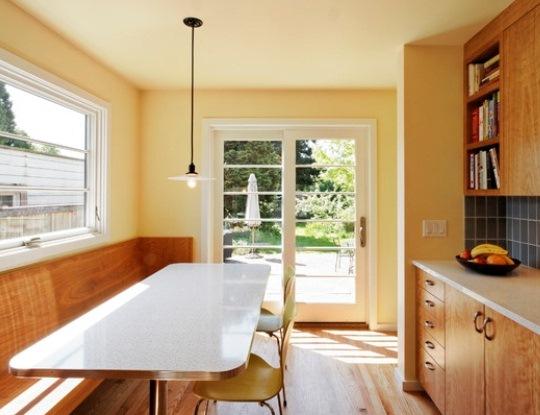 vintage flared milk glass shade pendant kitchen