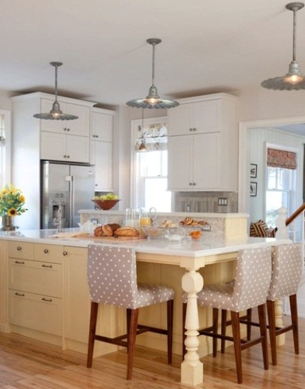 radial wave pendant kitchen