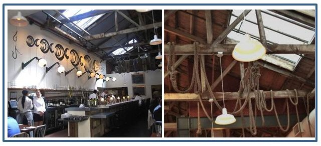 industrial warehouse shades restaurant commercial lighting