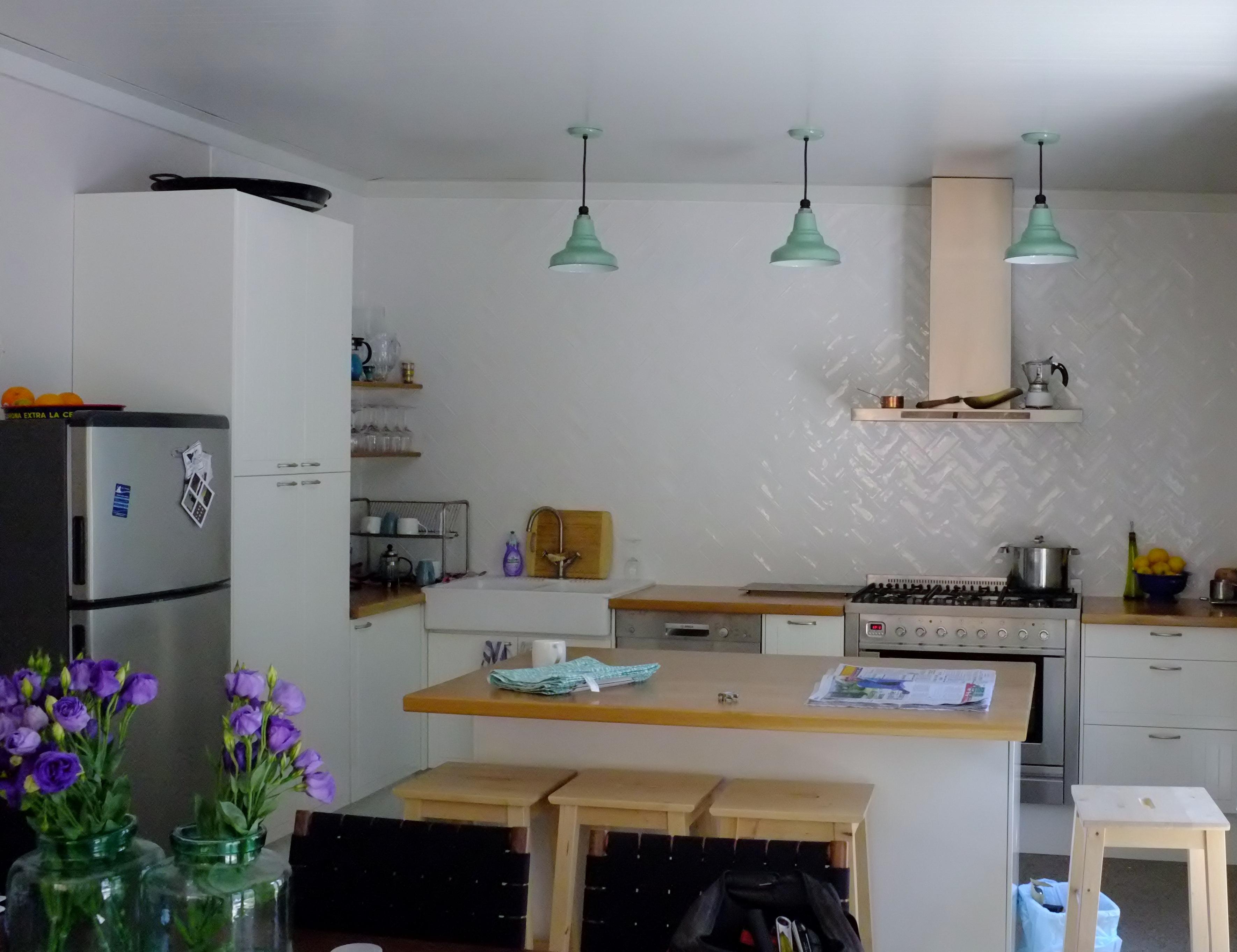 ivanhoe union porcelain pendant kitchen1